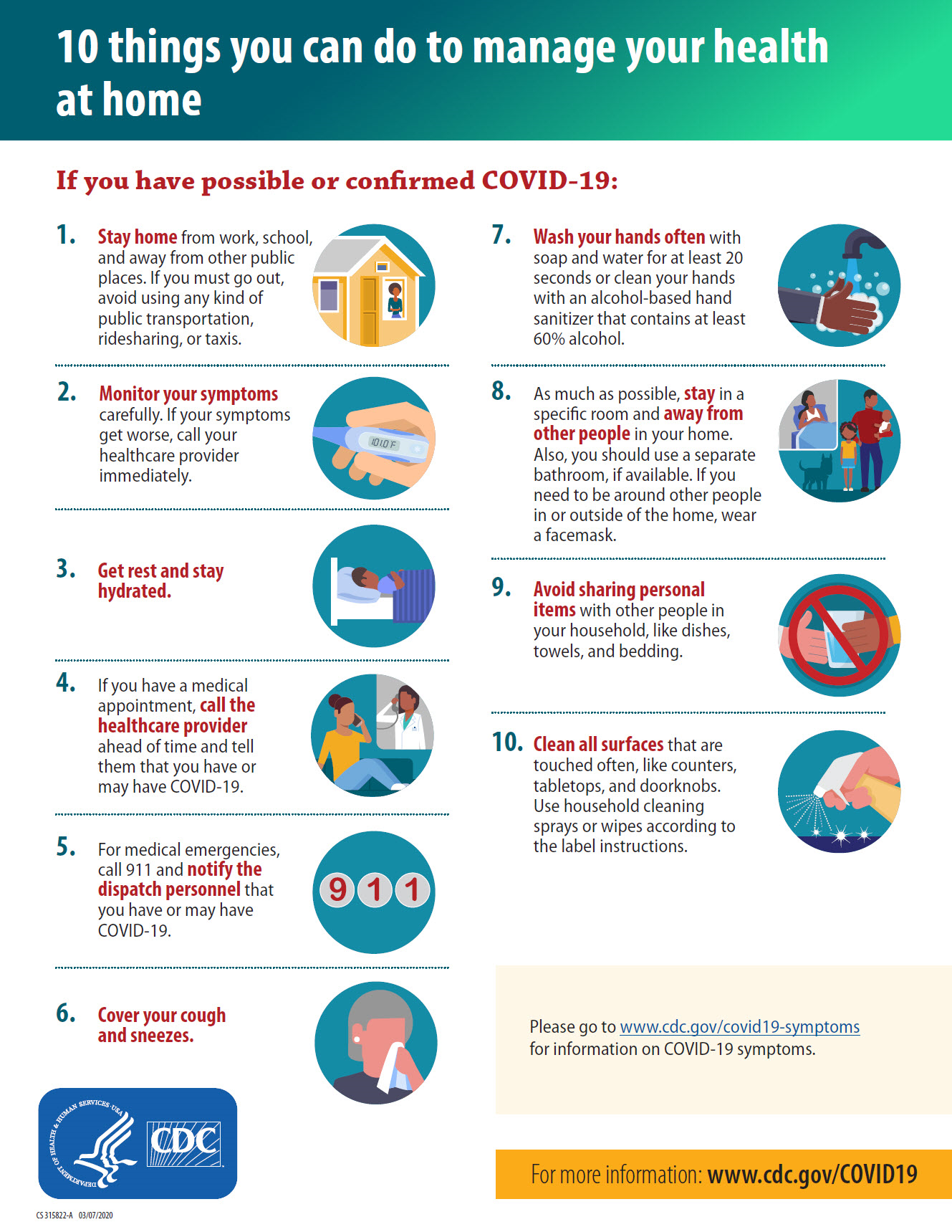 Stay healthy during the COVID-19 pandemic dos and don'ts