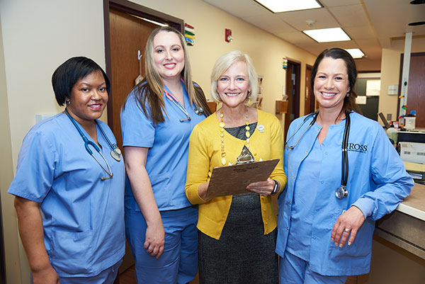 The care management team at GLBHC
