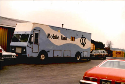 our first mobile health care unit