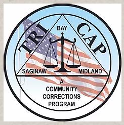 Tri-cap location logo