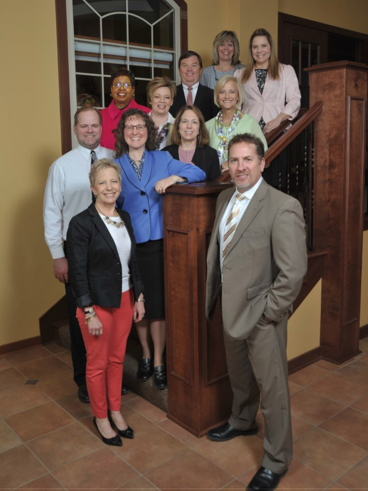 executive team at GLBHC