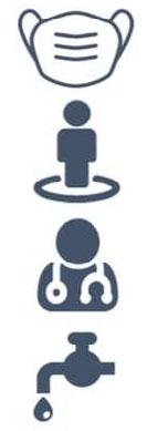 COVID-19 Education symbols